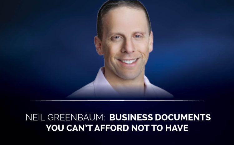 Business documents you can't afford not to have