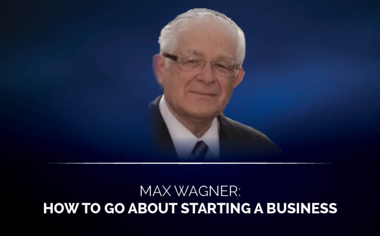 How to go about starting a business